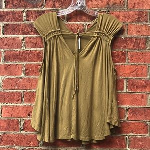 Strappy, Earthy, and Flowy Free People Blouse